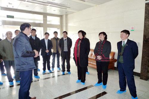 我校考察团赴华中农业大学调研学习图片